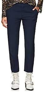 Chloé Women's Cady Slim Crop Trousers - Navy