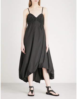 3.1 Phillip Lim Bubble-hem cotton-poplin midi dress