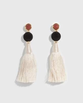 Lizzie Fortunato Puglia Fringe Earrings