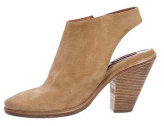 AllSaints Suede Ankle Booties