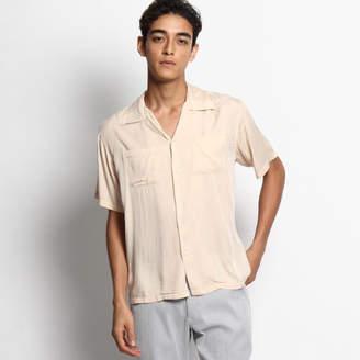 Dessin (デッサン) - Dessin(Men) レーヨン開襟カジュアルシャツ