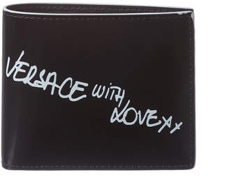 Versace With Love Leather Wallet