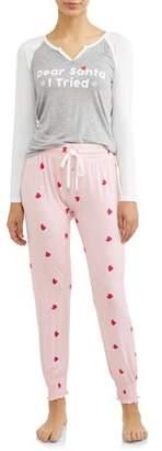Honeydew Women's Winter Breaker Jersey Pajama Set