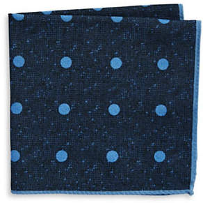 Ted Baker ENDURANCE Polka Dot Wool Handkerchief
