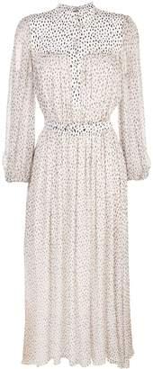 ADAM by Adam Lippes speckle print chiffon dress
