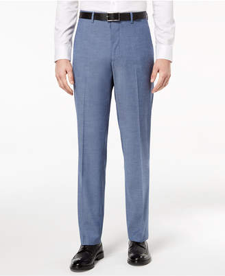 Alfani Closeout! Red Men's Slim-Fit Performance Stretch Light Blue Suit Pants
