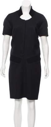 Thakoon Short Sleeve Midi Dress