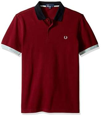 Fred Perry Men's Colour Block Pique Shirt