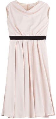 Paule Ka Draped Back Dress