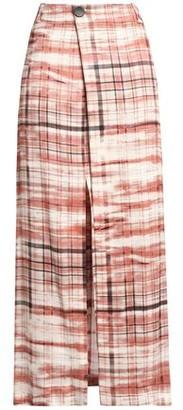 Joseph Annie Printed Crepe Wrap Maxi Skirt