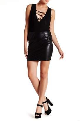 Tart Irrigon Faux Leather Skirt