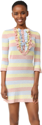 Boutique Moschino Striped Dress $695 thestylecure.com