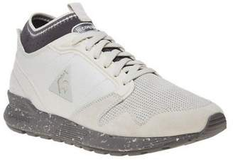 Le Coq Sportif New Mens Natural Omicron Premium Granit Suede Trainers Running