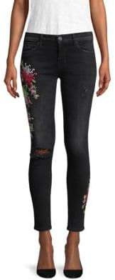 Hudson Nico Embroidered Jeans
