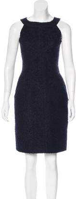 Chanel Bouclé Sleeveless Dress