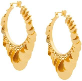 Paula Mendoza Embera hoop earrings
