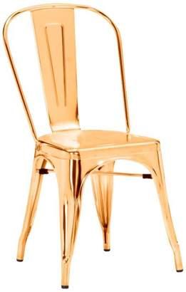 ZUO Modern Elio Dining Chair - Gold