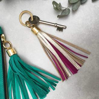 Miller and Jeeves Two Tone Swinbrook Tassel Keyring