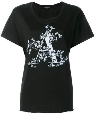 Ann Demeulemeester プリント Tシャツ