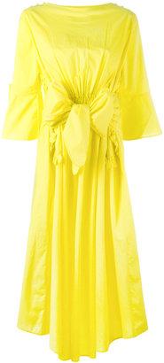 bow T-shirt dress