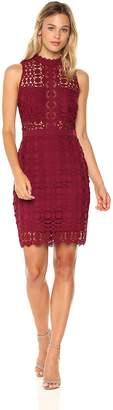 Astr Women's Vivian Crochet Lace Dress