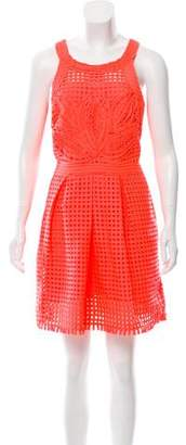 Yoana Baraschi Halter Mini Dress