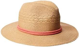 O'Neill Women's Meridian Straw Fedora Hat