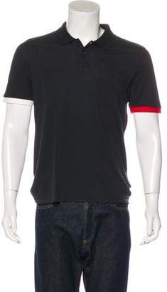 Band Of Outsiders Contrast Polo T-shirt