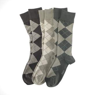 Ralph Lauren Argyle Dress Sock 3-Pack