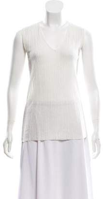 Akris Sleeveless Knit Top