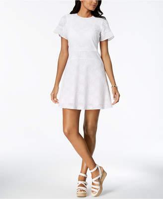 MICHAEL Michael Kors Cotton A-Line Dress