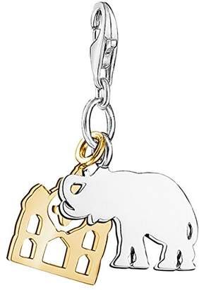 Thomas Sabo Women Charm Elephant 925 Sterling Silver