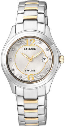 Citizen FE1134-54A Ladies Eco-Drive METAL Bracelet Watch
