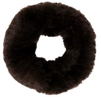 Yves Salomon Fur Knit Snood w/ Tags