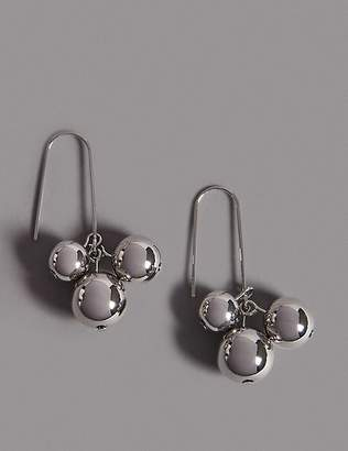 Marks and Spencer Ball Cluster Drop Earrings