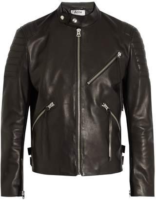 Acne Studios Oliver Chevron leather jacket