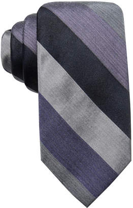 Ryan Seacrest Distinction Men's Audio Melange Stripe Tie, Created for Macy's
