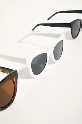 Free People Zoe Angular Sunglasses