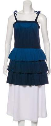 Marc by Marc Jacobs Ruffled Sleeveless Tunic