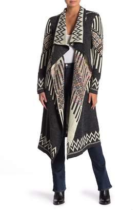 Baci Jenna Long ZigZag Jacket
