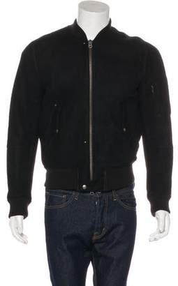 Acne Studios Lazer Shearling Bomber Jacket
