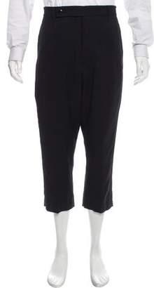 Rick Owens Cropped Tuxedo Pants w/ Tags