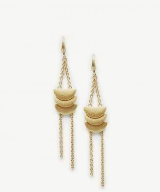Sole Society Linear Crescent Earrings