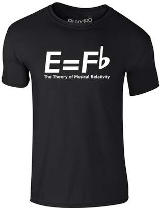 Theory Brand88 The Of Musical Relativity, Adults T-Shirt - Black/White M