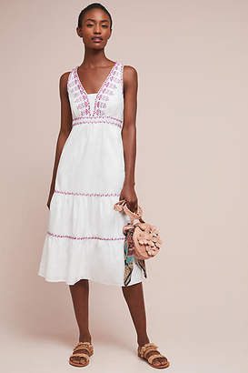 Akemi + Kin Selena Embroidered Swing Dress