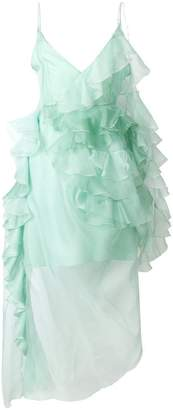 Preen by Thornton Bregazzi ruffle flared dress