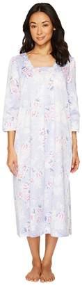 Carole Hochman Brush Back Satin Gown Women's Pajama