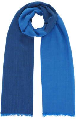 Hobbs Evie Wool Scarf, Blue