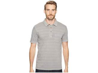 Lucky Brand James Stripe Polo Shirt Men's Clothing