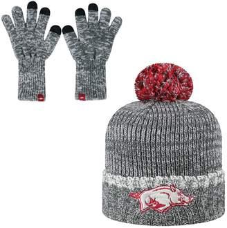 Top of the World Men's Arkansas Razorbacks Frostbite Knit Hat & Gloves Set